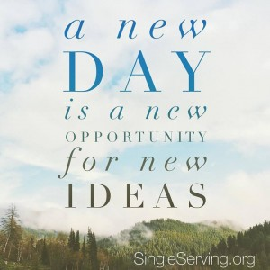 BE NEW DAY